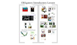 1 - Introductory Presentation