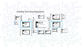 Solving Two Step Equations