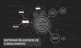 Copy of SISTEMAS RELIGIOSOS DE CONOCIMIENTO