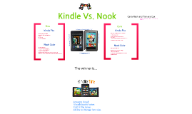 Kindle Vs. Nook SCASL 2012