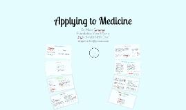 School Leaver Medical Applicants 2018-19