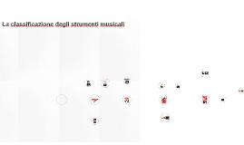 Copy of Gli strumenti musicali