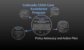 Colorado Child Care Assistance Program;