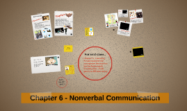 Chapter 6 - Nonverbal Communication