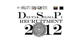 DSP - Spring 2012 Recruitment