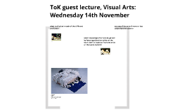 ToK Guest lecture 1
