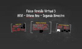 Física: Revisão Virtual para o Oitavo Ano