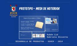 prototipo - mesa de notebook
