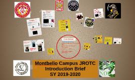 Montbello HS JROTC Introduction Breif