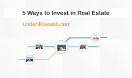 5 Ways to Invest in Real Estate