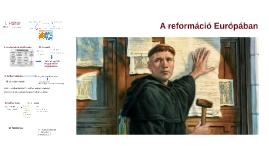 A reformáció Európában