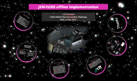 JEM-EUSO offline implementation
