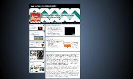 Welcome to EDU 699!