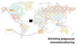 Workshop prepcourse internationalisering