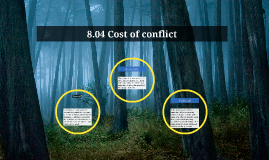 8.04 Cost of conflict