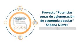 """Potenciar zonas de aglomeración de economía popular"""" Sabana Nieves"""