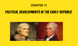 Ch.11 Political developments in the early republic