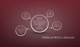 Medieval British Literature