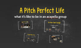 Copy of A Pitch Perfect Life