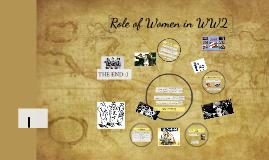 Role of Women in WW2