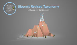 Copy of Bloom's Revised Taxonomy