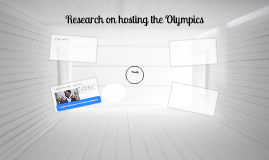 Research on hosting the Olympics