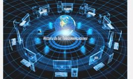 Copy of Historia de las Telecomunicaciones
