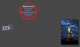 CST: Admissions