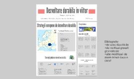 Copy of Dezvoltare durabila in viitor