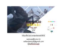 15092016 - Computação Gráfica I - 04.08.16