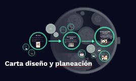 Carta diseño y planeación
