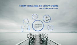 MISQA Intellectual Property Workshop