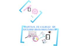 CONTROL DE CALIDAD LABORATORIO DE MICROBIOLOGIA