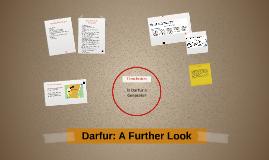 Darfur: A Further Look