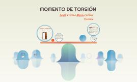 MOMENTO DE TORSIÓN
