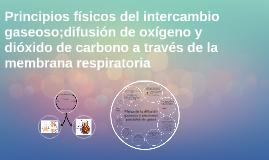 Copy of Principios físicos del intercambio gaseoso;difusión de oxíge