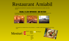 Restaurant Amiabil