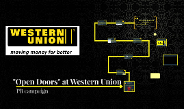 Open Doors at Western Union