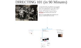DC 210 - Intro to Directing
