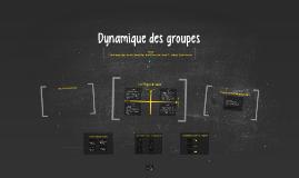 Copy of Dynamique des groupes