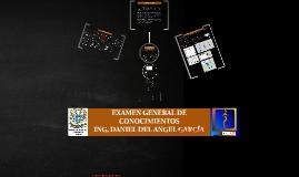 EXAMEN GENERAL DE CONOCIMIENTOS