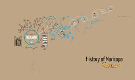 History of maricopa