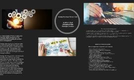 Activity 4: Task Conceptual Map Strategic Direction