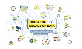 The Decade of Data - for Sandy Pentland - MIT