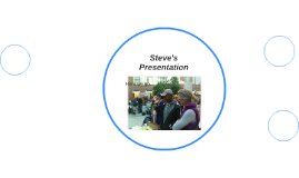 Steve's Presentation