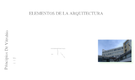 Elementos Arquitectónicos De La Facultad De Ingeniería Civil De La PUCE