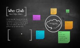 Who Club