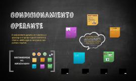 Copy of CONDICIONAMIENTO OPERANTE