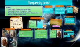 Theogany by Hesiod