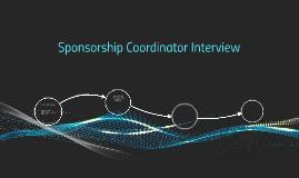 Sponsorship Coordinator Interview
